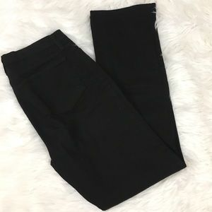Not Your Daughter's Jeans black straight leg jean